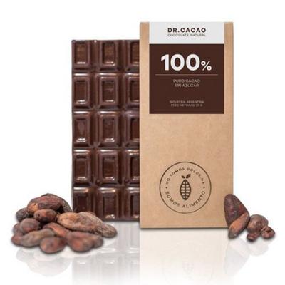 100% Puro Cacao sin azúcar